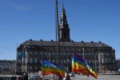 和平手表在哥本哈根 免版税库存照片