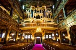 和平教会在Swidnica镇,波兰 库存图片
