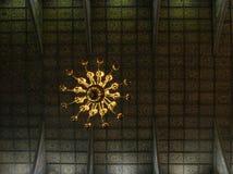 和平教会屋顶在亚沃尔 免版税库存照片