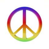 和平是喜悦 免版税库存图片
