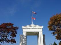 和平曲拱纪念碑 免版税库存图片