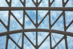 和平桥梁在第比利斯, Geaorgia,在的步行桥 库存图片