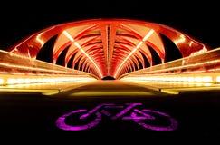 和平桥梁 库存照片