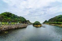 和平海岛,基隆,台湾 图库摄影