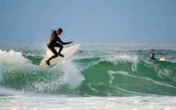 和平的冲浪者 库存照片