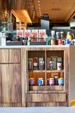 和平的咖啡咖啡馆 免版税库存图片