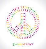 和平的标志 库存图片