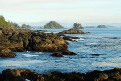 和平的海岸线 库存图片