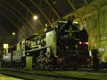 和平的蒸汽机车在泰国 免版税库存图片