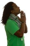 和平祷告 免版税库存图片