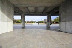 和平纪念馆在广岛,日本 库存图片