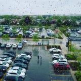 和平雨 免版税图库摄影