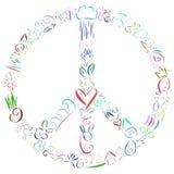 和平 免版税图库摄影