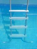 水和梯子 库存图片