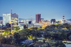 和歌山,日本都市风景 免版税库存图片