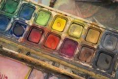 画和艺术的项目 免版税库存照片
