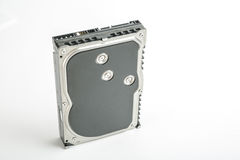 黑和银色桌面3 5英寸硬盘 免版税库存图片