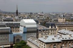 巴黎和巴黎圣母院-巴黎著名所有虚构物, 免版税库存图片