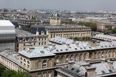 巴黎和巴黎圣母院-巴黎著名所有虚构物, 库存图片