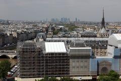 巴黎和巴黎圣母院-巴黎著名所有虚构物, 库存照片