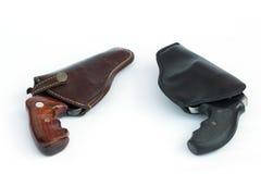 .38和.22枪 免版税库存照片
