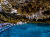 洞和水池全国古迹 免版税库存照片