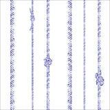绳索和结节型 免版税库存照片