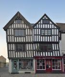 91和92,教会街道, Tewkesbury 免版税库存图片