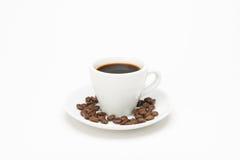 咖啡与种子的 图库摄影