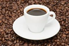 咖啡与种子的 免版税库存照片