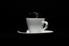 咖啡与胶囊的 库存照片