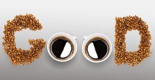 咖啡为早晨好 库存照片