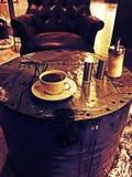 咖啡为生活 库存照片