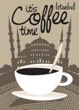 咖啡伊斯坦布尔 免版税库存图片