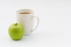 咖啡休息快餐时间 免版税图库摄影