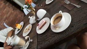 咖啡休息时间 免版税库存图片