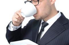 咖啡休息 图库摄影