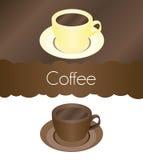 咖啡传染媒介杯子 免版税图库摄影