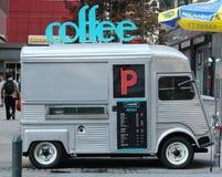 咖啡供营商在纽约 免版税库存照片