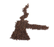 咖啡做土耳其人 库存照片