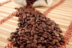 咖啡做方式 免版税图库摄影