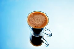 咖啡光 免版税库存图片