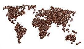 咖啡入侵。 免版税库存照片