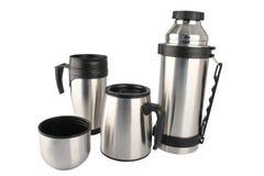 咖啡具旅行 库存照片