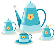 咖啡具茶 免版税库存图片
