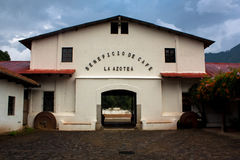 咖啡农厂La Azotea 免版税库存照片