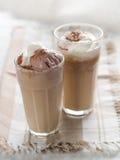 咖啡冰了 免版税库存照片