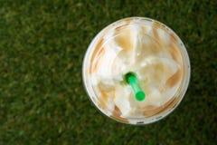 咖啡冰了 图库摄影