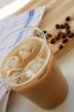 咖啡冰了latte 库存图片
