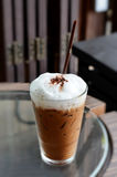 咖啡冰 免版税库存图片